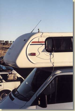 Ü-Wagen am Ayers Rock